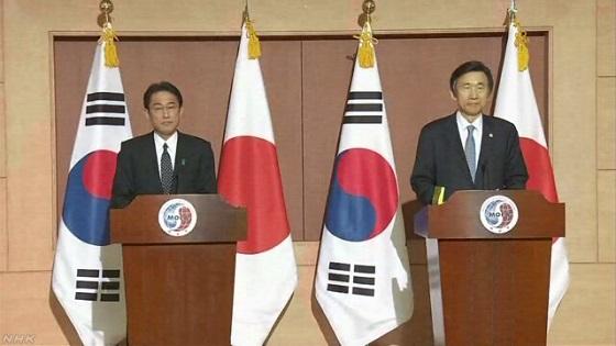 日韓外相会談 慰安婦問題で最終的解決を確認