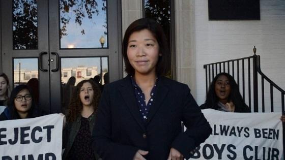 反トランプ過激デモの首謀者は、韓国人女のチョ・ヨンジョンだった
