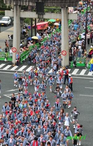 熊本市の藤崎八旛宮秋季例大祭(ボシタ祭り)