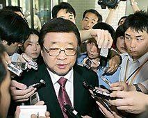 権哲賢在日本韓国大使  一時帰国