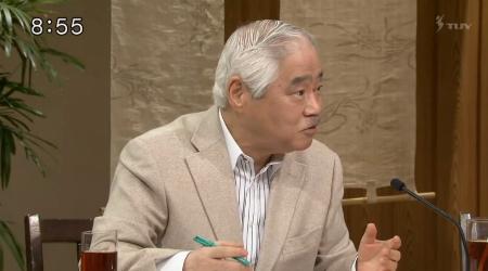 20170212TBS「サンデーモーニング」岸井成格「(笑)考えてみればね!日米会談で北朝鮮の核ミサイルは大きな議題でしたから!それに対する皮肉を言えば、祝砲をあげたっていう、ふふふっ(笑)!」