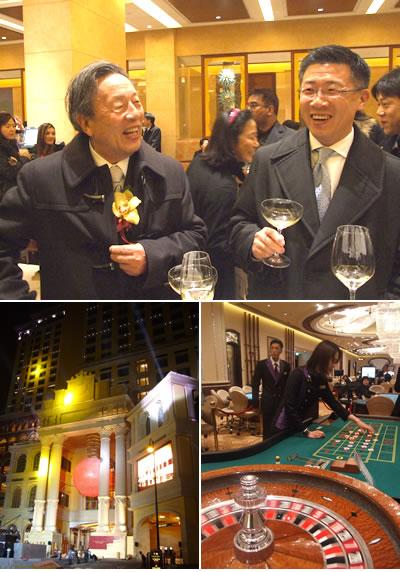 2008年2月1日、パチンコ最大手のマルハンは、同社出資のマカオのカジノホテル「ポンテ16」をオープン