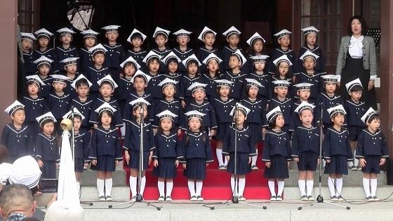 第28回同期の桜を歌う会3 塚本幼稚園奉唱