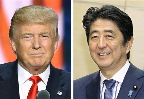 安倍晋三首相が対トランプ外交で速攻 トップダウン志向2人、ウマが合うか