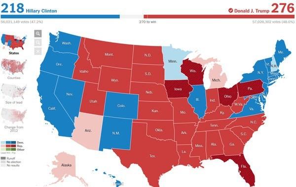 「私は全ての国民の大統領になる」トランプ氏が勝利宣言 「歴史的な勝利だ」…共和党、8年ぶり政権奪還 米主要メディア報じる