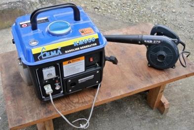16-11-10発電機とブロワー