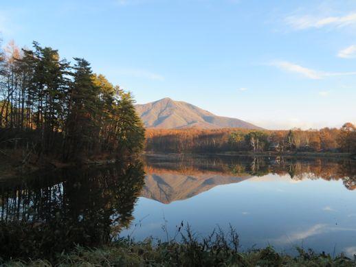 絶景 飯綱湖