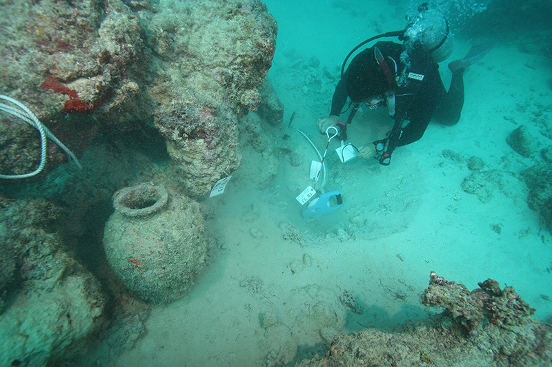 水中考古学