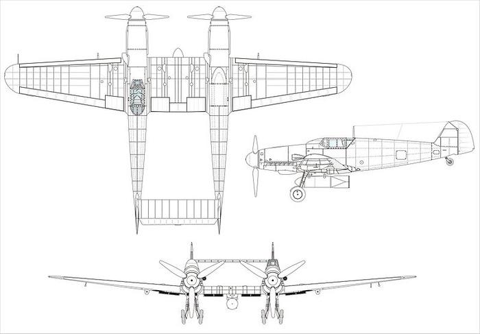 800px-Bf109Z_3Seiten_neu
