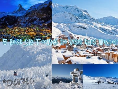 5 ski towns
