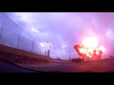 【衝撃!】マルタの偵察機墜落の瞬間をドライブレコーダーが捉えていた!