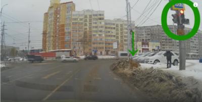 【苦笑】人間より犬の方が交通ルールを守った衝撃映像!