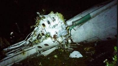 【衝撃!】コロンビア墜落事故・・・・・選手達の最後の映像!