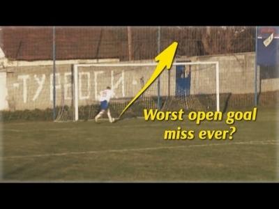 【苦笑】唖然だよね!サッカーで最悪のミスが記録された・・・・・