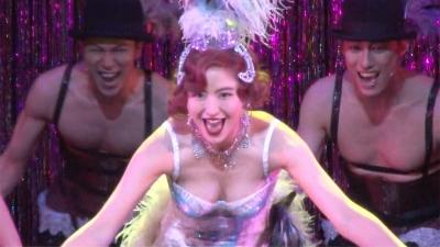【きれい!】ミュージカル『キャバレー』記者会見で長澤まさみの胸がプルプル・・・・・