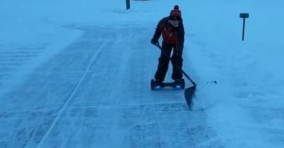 【スゴイ!】雪かきが楽しくなる方法!