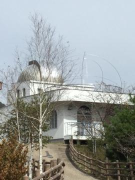天体観測会のドーム