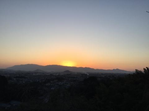 三輪山からの眺め