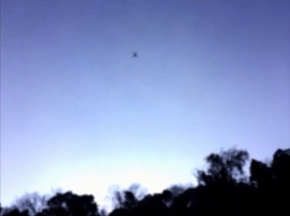 ドローンで空撮!10-上空のドローン01