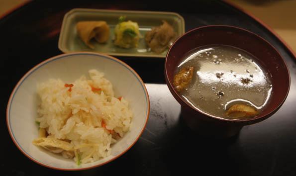 20170131 菊の井 9 ゴボウスリ流し汁椀 21㎝DSC04529