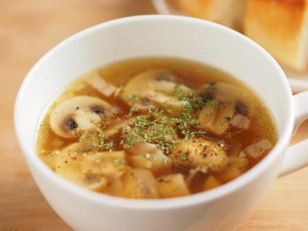 マッシュルームガーリックスープ20