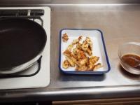 鶏むね肉の生姜焼き40