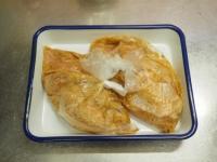 鶏むね肉の玉ねぎソース焼き10