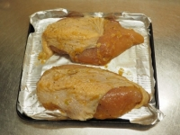 鶏むね肉の玉ねぎソース焼き11