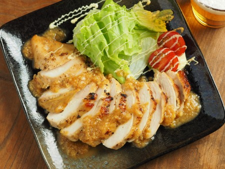 鶏むね肉の玉ねぎソース焼き28
