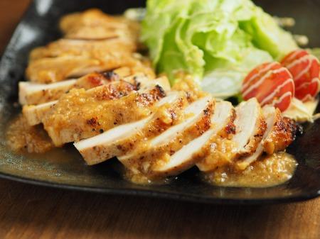 鶏むね肉の玉ねぎソース焼き21
