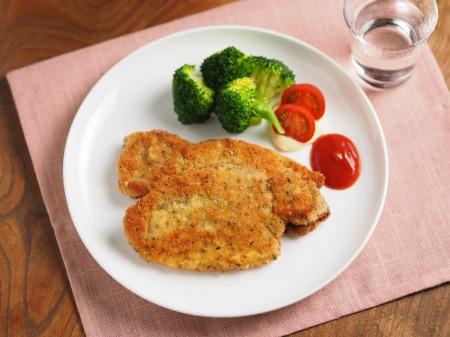 豚ロース肉のイタリアンカツレツ35