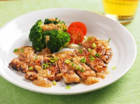 豚ロース肉の玉ねぎソース焼14