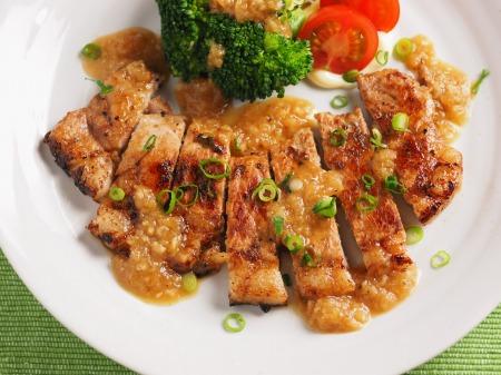 豚ロース肉の玉ねぎソース焼20