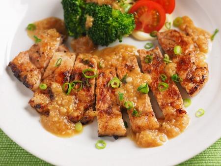 豚ロース肉の玉ねぎソース焼16