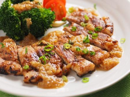 豚ロース肉の玉ねぎソース焼21