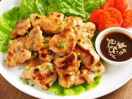 鶏むね肉の焼肉風11