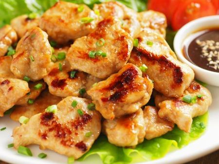 鶏むね肉の焼肉風21