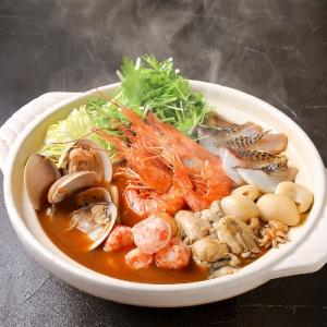 海老味噌海鮮寄せ鍋