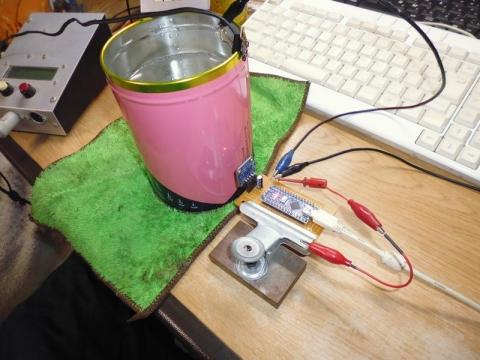 TMP007湯温の測定1