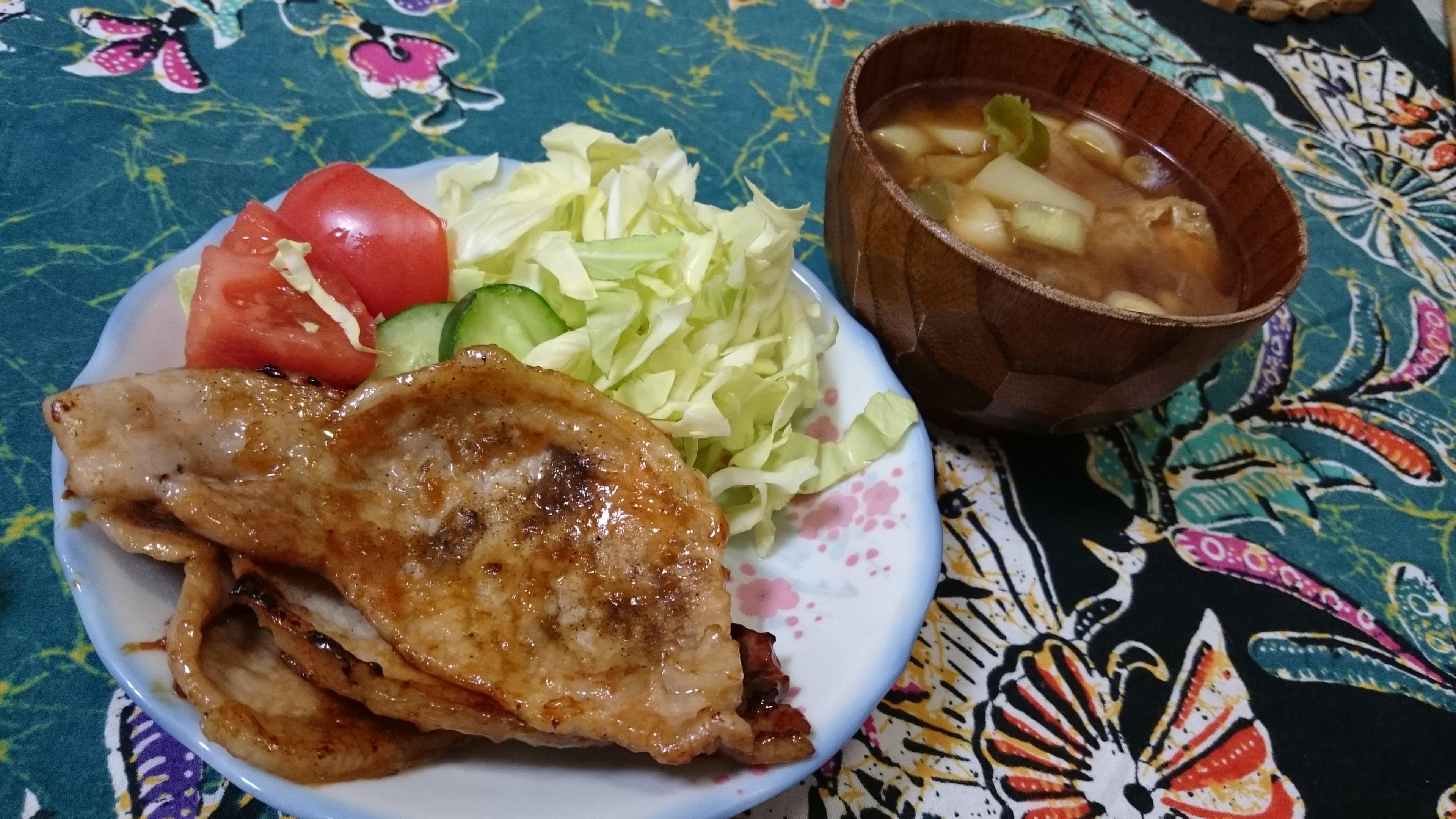 子供達の料理和食
