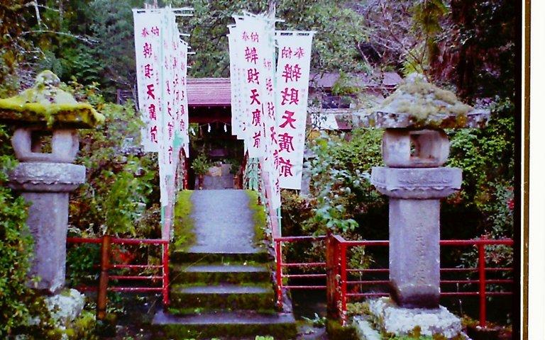 鳳来寺参道-1