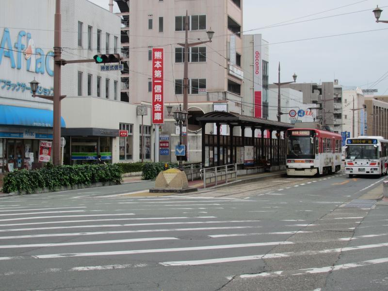 健軍町駅1
