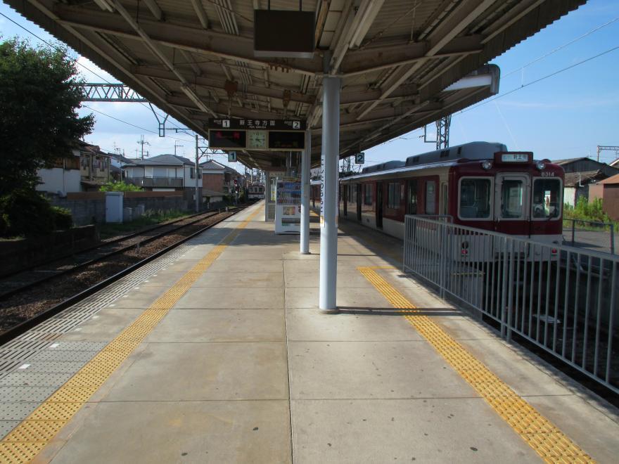 西田原本駅2
