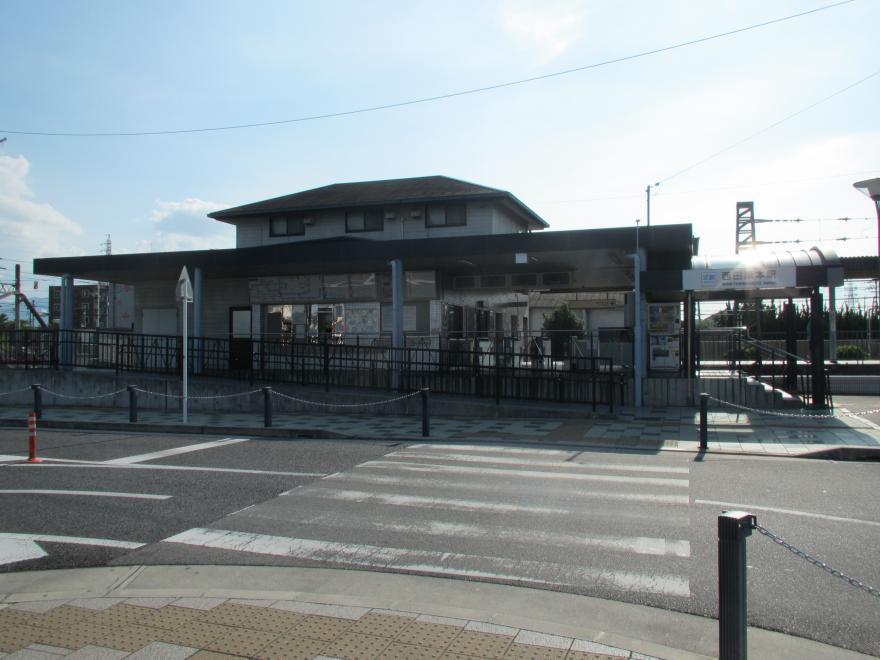西田原本駅1