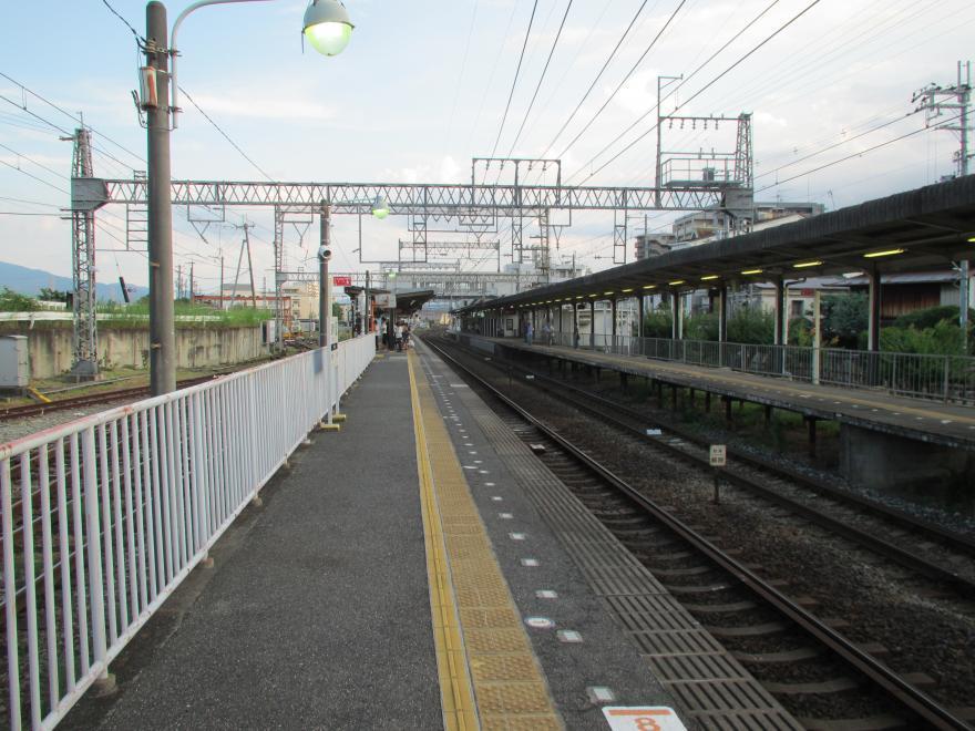 道明寺駅2