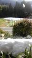 雪の楽々庵