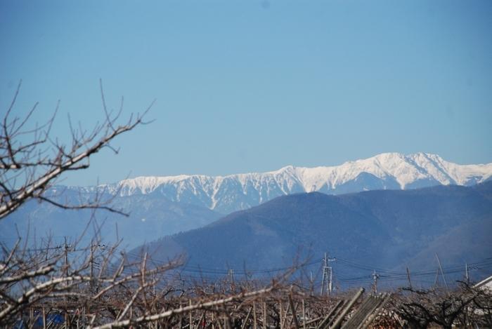 塩山からの南アルプス16