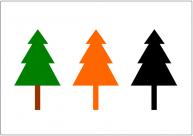 木のフリー素材テンプレート・フォーマット・雛形