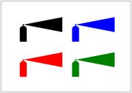 スプレーのフリー素材テンプレート・画像・イラスト
