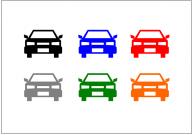 車のフリー素材テンプレート・画像・イラスト